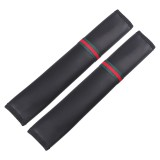 1 Pair Car Seat Belt Covers Shoulder Pads Auto Seat Belt Shoulder Protection Padding, Style: Long Section