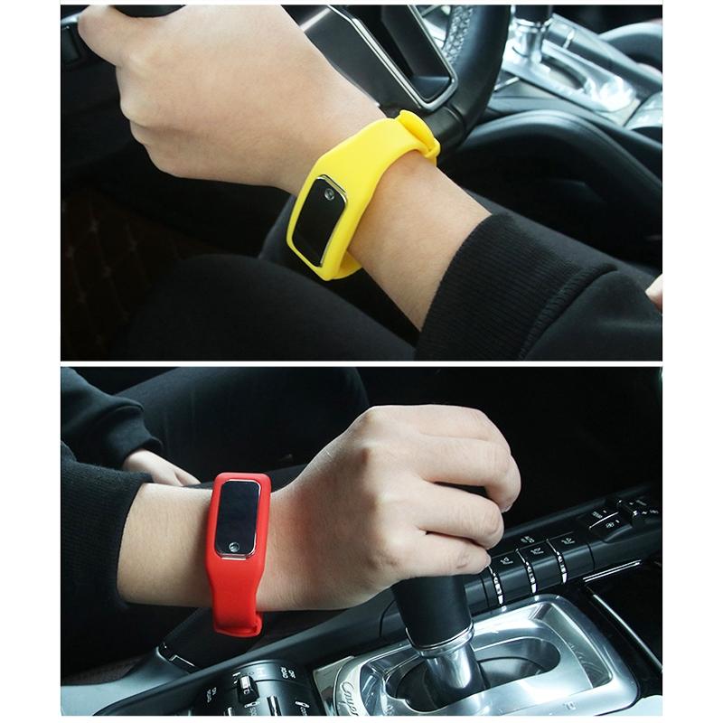 Car Door Static Elimination Bracelet Anti-static Silicone Bracelet