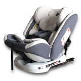 Car Forward and Reverse Installation Children Safety Seat ISOFIX Hard Interface + LATCH Interface (Grey)