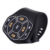 X09 Car Wireless Bluetooth Controller Mobile Phone Multimedia Multi-functional Steering Wheel Remote Controller
