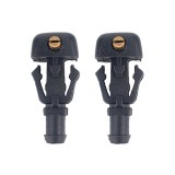 2 PCS Front Windshield Washer Wiper Jet Water Spray Nozzle 3W7Z17603AA for Ford F-150