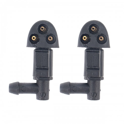 2 PCS Front Windshield Washer Wiper Jet Water Spray Nozzle 94556605 for Chevrolet Cruze 2009-2014