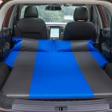 Universal Car Polyester Pongee Sleeping Mat Mattress Off-road SUV Trunk Travel Inflatable Mattress Air Bed, Size: 180 x 130 x 102cm (Blue + Grey)