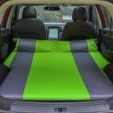 Universal Car Polyester Pongee Sleeping Mat Mattress Off-road SUV Trunk Travel Inflatable Mattress Air Bed, Size: 195 x 130 x 109cm (Green + Grey)