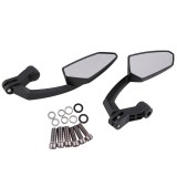 2 PCS Motorcycle Modified Rear View Mirror Set for Honda / Kawasaki / Suzuki / Yamaha