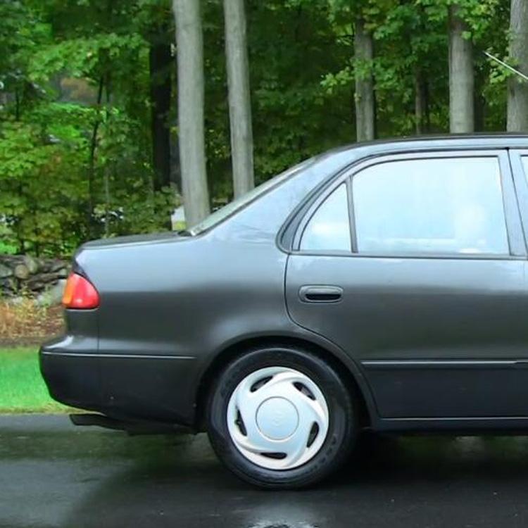 2 PCS Car Rear Door Outside Handle 69240-02040+69240-02040 for Toyota Corolla 1998-2002