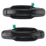2 PCS Car Rear Door Outside Handle 83650-3E010+83660-3E010 for KIA Sorento 2003-2006