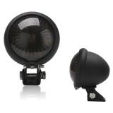 Speedpark 12V Motorcycle Modified Tail Light Brake Light for Harley (Black)