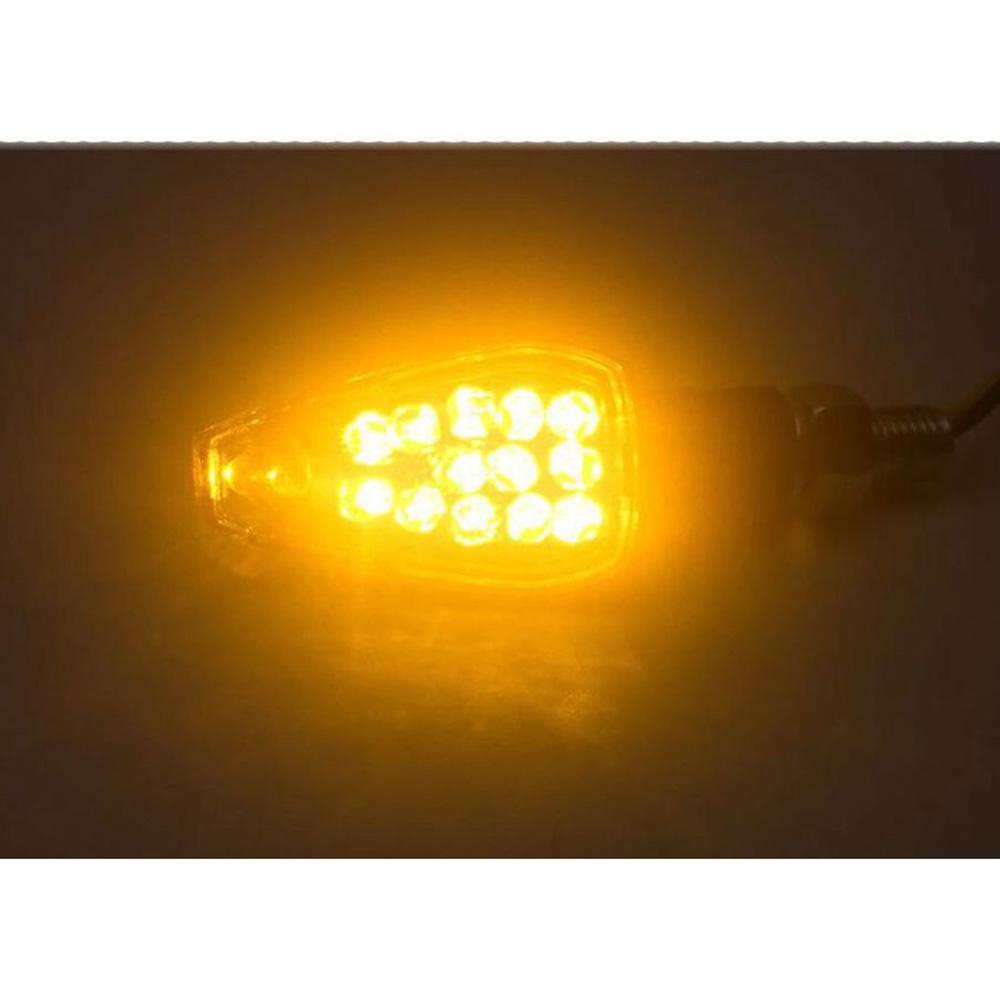Speedpark Motorcycle Modified Turn Signal Light Triangular Arrow Turning Reminder Light