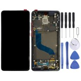 Original AMOLED Material LCD Screen and Digitizer Full Assembly with Frame for Xiaomi 9T Pro / Redmi K20 Pro / Redmi K20 (Black)
