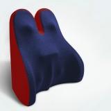 Car Seat Lumbar Support Cushion Memory Foam Office Lumbar Cushion, Size: Bandage (Red & Blue )