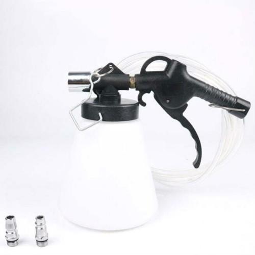 Pneumatic Brake Fluid Changer Automobile Brake Fluid Replacement Joint Filler Emptying Tool Brake Fluid Change Tool, Style: Single Pot
