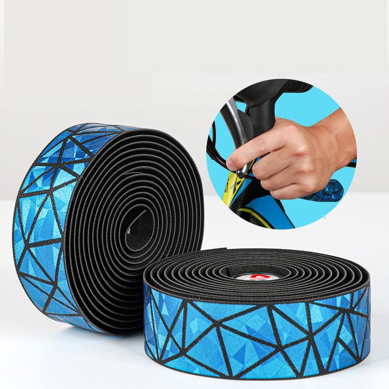 WEST BIKING Bike Handlebar Tapes Soft Comfortable Bicycle Handlebar Grip Tape Adhesive Back Riding Cycling