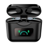 Bakeey X33 TWS bluetooth 5.0 Earphone Wireless ANC Active Noise Cancelling Headset IPX7 Waterproof Touch Control OLED Display HD Call Headphone With Mic