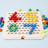 2 in 1 Kid Educational Math Toys Montessori Early Learning Educational Puzzle Toys for Kindergarten Childrens