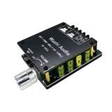 ZK-1002L Mini HIFI Power Amplifier Board bluetooth 5.0 High Power 100W 2.0 Dual-channel Stereo Sound Module