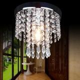 20*20CM Aisle Bedroom Crystal Chandelier Pendant Lamp Ceiling Light Lighting Fixture