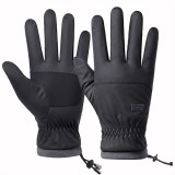 Winter Men Women Touch Screen Driving Gloves Windproof Waterproof Outdoor Skiing Sport Warm Thicken Waterproof Windproof