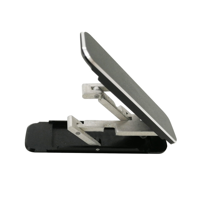 Bakeey Portable Folding Hidden Type Lazy Phone Desktop Holder Aluminum Alloy Stand Back Stick Mobile Phone Holder For iPhone POCO M3 All Smartphone
