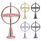 Metal Gyro Toy Set Spinning Top Self-balancing Gyroscope Anti-gravity Decompression Educational Toy Finger Gyroscope Toy