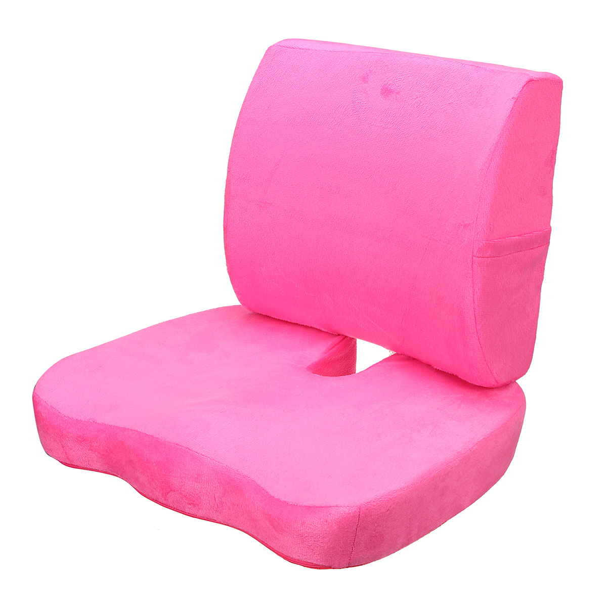Memory Foam Seat Cushion Breathable Lumbar Back Support Orthoped Waist Protection Home Office Car Chair Seat Pad Pain Stress Relief Mat