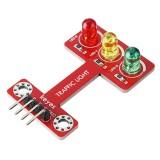 Keyes Brick LED Traffic Signal Light Emitting Traffic Light Module for Microbit Pin Header Version