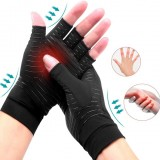 1 Pair Compression Gloves with Copper for Arthritis Rheumatoid,Relief Pain and Swelling,Osteoarthritis Copper Arthritis Gloves