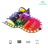 Adeept Starry:bit Micro:bit Smart Robot Car Kit Programmable STEM Educational Robot Kit with Detailed Projects Tutorial Book