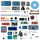 Geekcreit Starter Kit for Arduino Mega2560 R3 for MEGA2560 with 30 Lessons Tutorial Compatible with Arduino IDE Scratch Mixly Magicblok