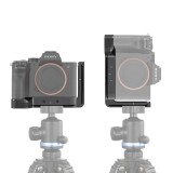 SmallRig 2417 A7R4 Camera L Plate L-Bracket for Sony A7R IV W Arca Compatible Base Plate Side Plate