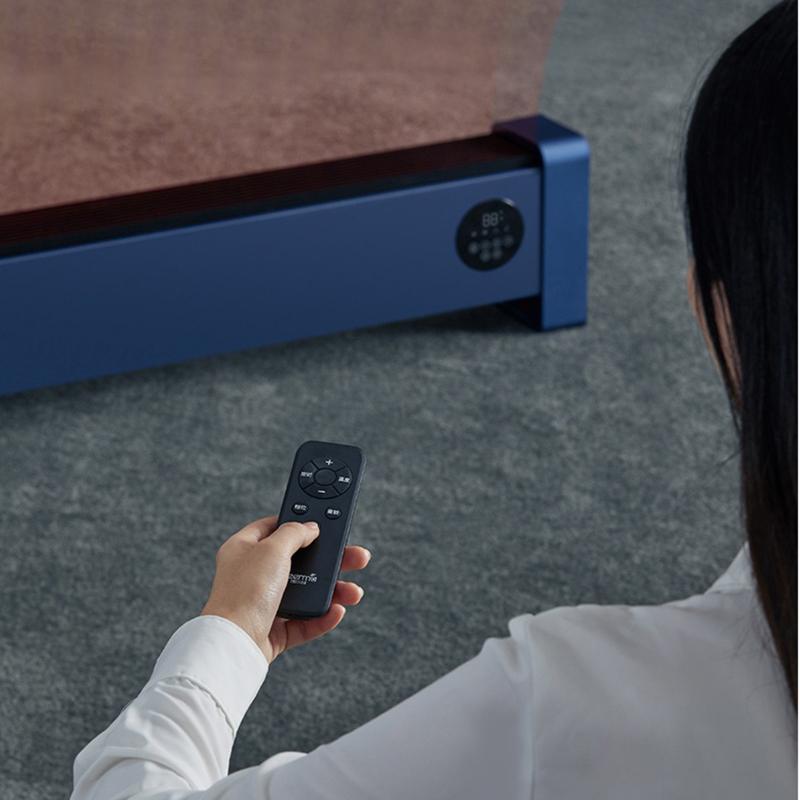 Deerma DEM-DNT300 Baseboard Electric Heater 5s Quick Heating Intelligent Constant Temperature 24H Timing Low Noise IPX4 Grade Splashproof