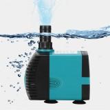 110V 3/6/10/15/25W Ultra-Quiet Submersible Water Fountain Pump Filter Fish Pond Aquarium Water Pump Tank Fountain