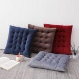 40x40cm Seat Cushion Mat Pad Cotton Square Velvet Thicker Office Sofa Floor