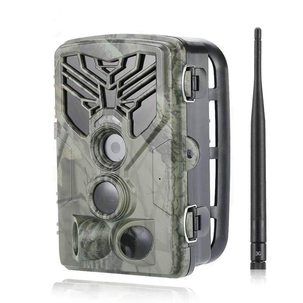 Suntek HC-810G 3G MMS SMS Email 20MP HD 1080P 0.3s Trigger 120 Range IR Night Version Wildlife Trail Hunting Camera Trap Camera