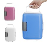 4L Mini Vehicle Refrigerator Car Heating And Cooling Box Home Car Dual Purpose Mini Car Refrigerator Thermal Insulation