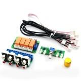 DC 7V-24V Audio Input Switch Board Four-way Audio Source Switch Board Audio Signal Input Switch Board Switch Relay DIY Kit