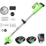 850W 24V Cordless Grass Trimmer Electric Trimmer Lawn Cutter Mower Grass Cutting Machine