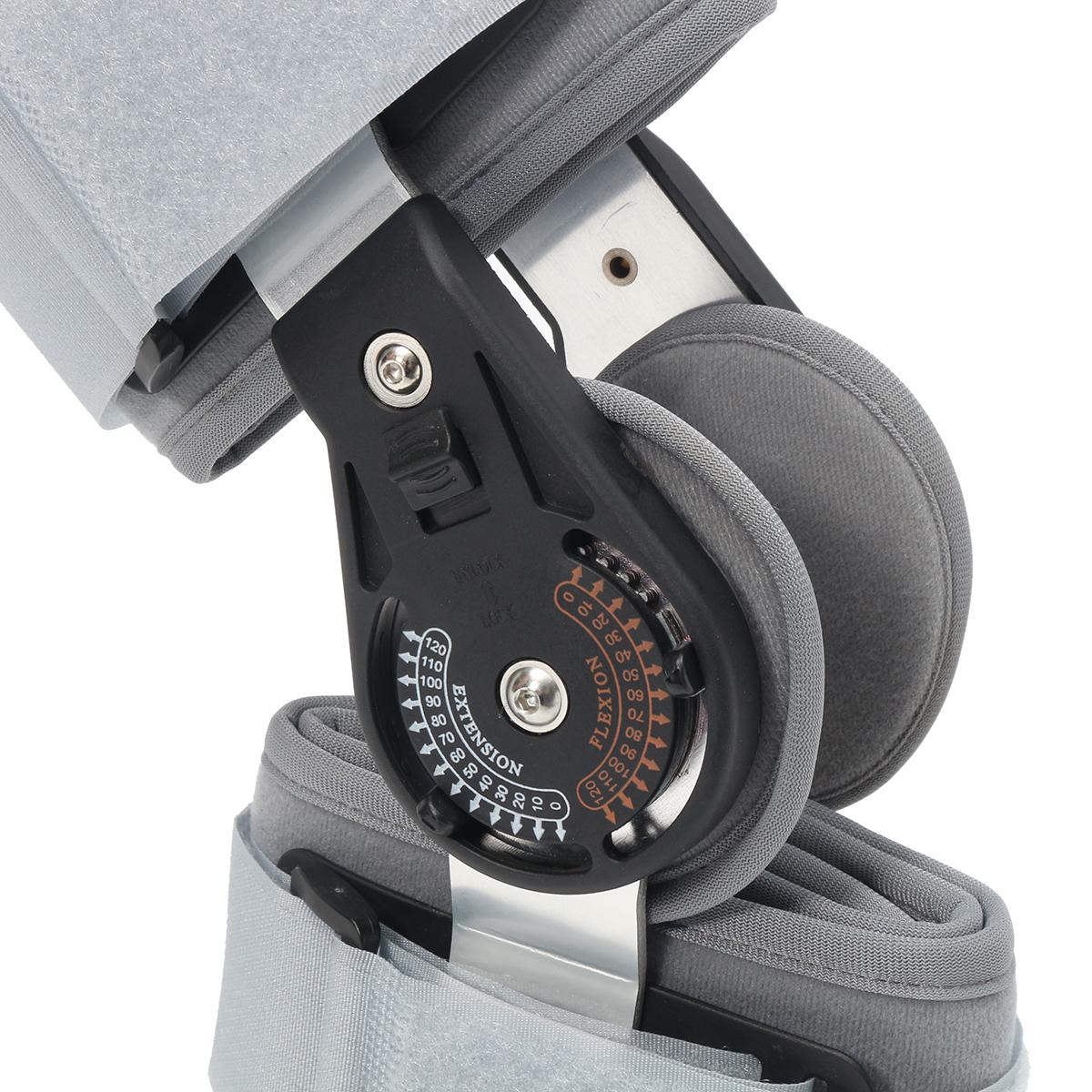 Medical Grade 0-120 Adjustable Hinged Knee Leg Brace Support & Protect Knee Bracket
