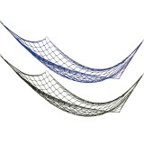 260 x 80cm Nylon Net Outdoor 2 People Double Hammock Portable Camping Parachute Hanging Swing Bed Max Load 110kg
