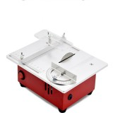 100-240V Mini Table Saws Multifunctional Electric Saw Wood Working DIY Bench Lathe Electric Polisher Grinder DIY Model Household Cutting Machine