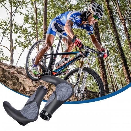 BIKIGHT Bike Grips Non-slip Comfort Waterproof Bike Handlebar Grips for MTB Road Bike