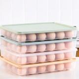 Bakeey Kitchen 24 Grid Egg Carton Refrigerator Storage Box Portable Picnic Plastic Egg Carton Egg Tray