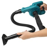 2 in 1 Electric Air Blower Vacuum Cleaner Handheld Dust Collecting Tool For Makita 18V Battery