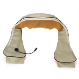 Electric Shiatsu Neck Back Massager Infrared Physiotherapy Kneading Shoulder Leg Pain Relief Massage Device