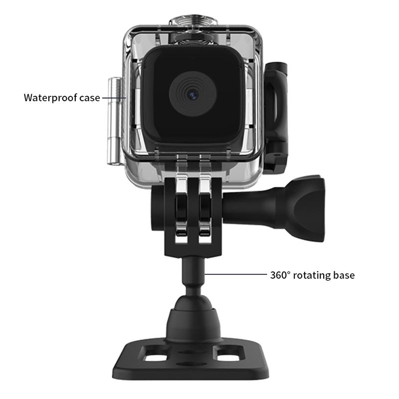 Bakeey SQ28 Web Camera Wifi Infrared Night Vision HD Camera Sports Aerial Waterproof Camera