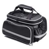 25L Bike Rear Seat Bag Waterproof Bicycle Saddle Bag Reflective Biking Laggage Bag for MTB Road Bike Motorcycle