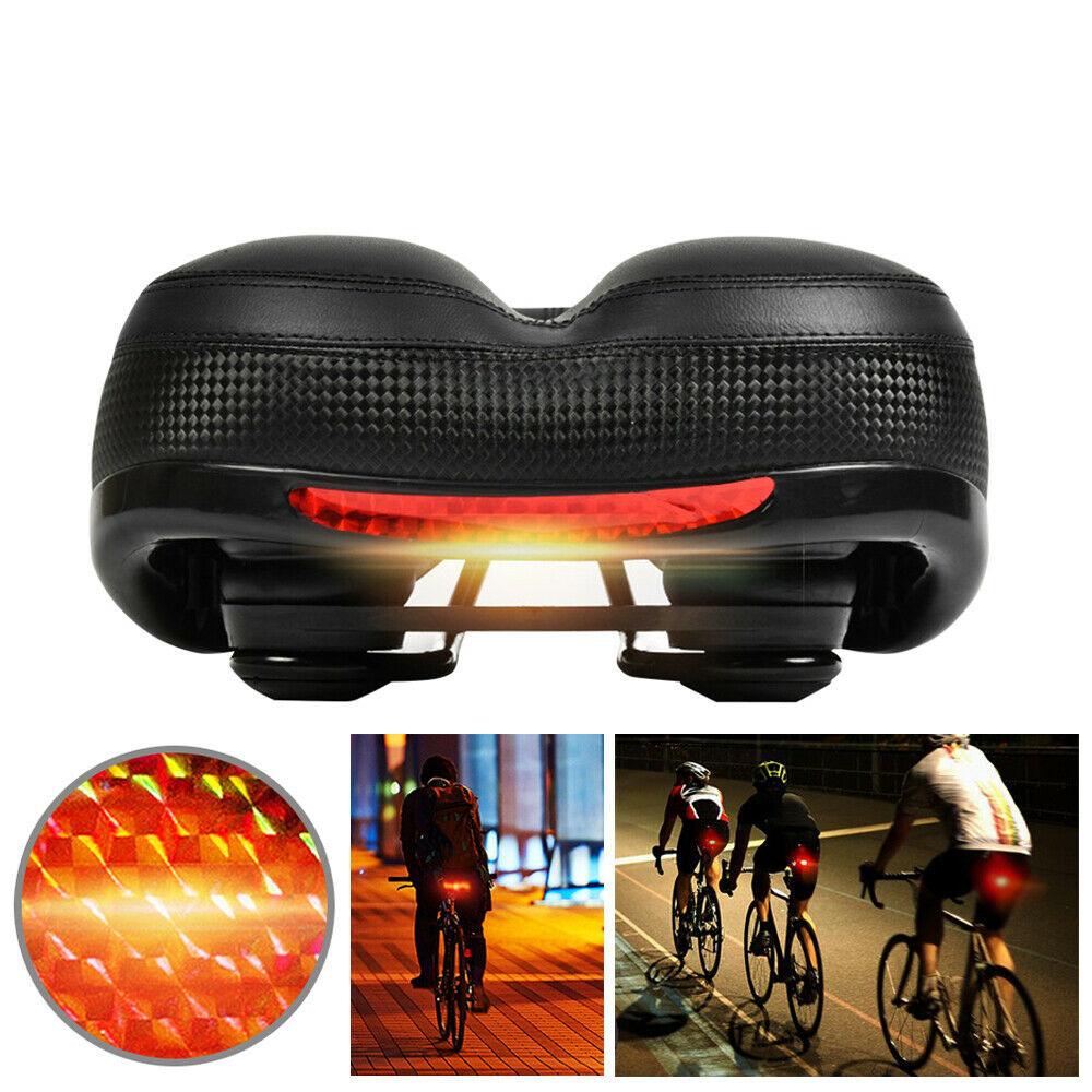 BIKIGHT 9.8x7.8x4.7inch Comfortable Bike Seat Soft Bicycle Saddle Bicycle Cushion for MTB Road Bike