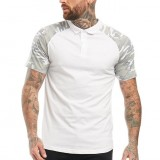 Summer Outdoor Classic Shirt Men Cotton Solid Short Sleeve Breathable Leisure Tee Shirt