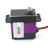 Goteck DC2124T 8KG Coreless Motor Metal Gear Digital Servo for Car Model Fixed-wing Aircraft Helicopter