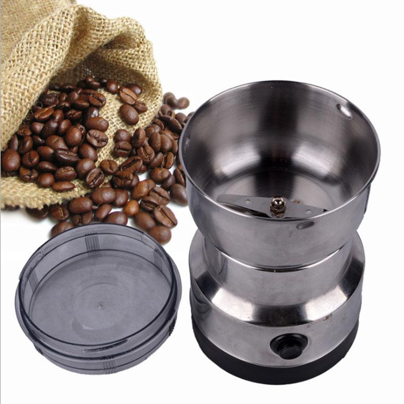 Electric Coffee Grinder Grinding Milling Bean Nut Spice Matte Blender AU/EU/US Plug